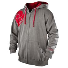 """Striker"" Heather Grey Zip-up..."